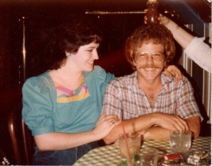 My late husband, Tim, and I, shortly after we fell in love in 1983.