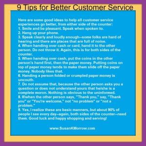 customer service title