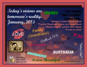 Vision Board January 2015 - Copy