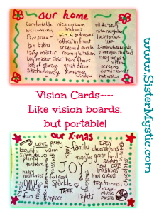 vision cards